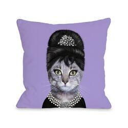 Breakfast Pets Rock Fleece Decorative Pillow