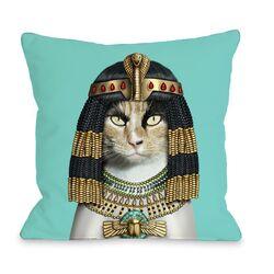 Cleo Pets Rock Fleece Decorative Pillow