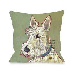 Doggy D�cor Scottish Terrier2 Pillow