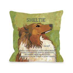 Doggy D�cor Sheltie1 Pillow