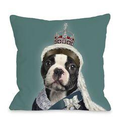 Pets Rock Queen Pillow