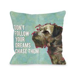 Doggy D�cor Don't Follow Dreams Pillow