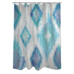 Oliver Gal Del Mar Polyester Shower Curtain