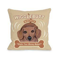 Doggy D�cor Wigglebutt Pillow