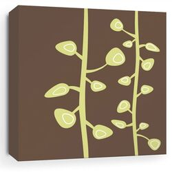 Nourish Bud Stretched Graphic Art on Canvas