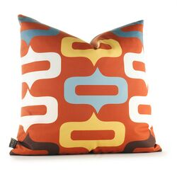 Aequorea Smile Synthetic Pillow