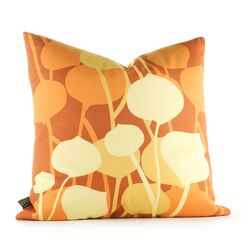 Aequorea Seedling Graphic Pillow in Rust