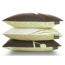 Nourish Bud Suede Throw Pillow