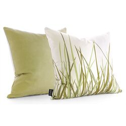Summer Grass Throw Pillow