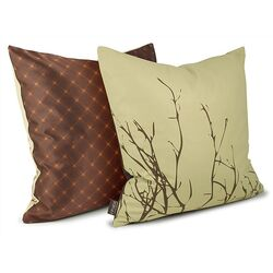 Twig Throw Pillow