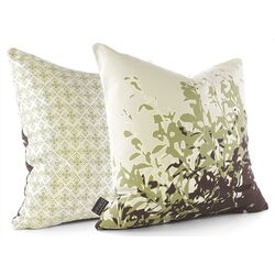 Foliage Throw Pillow in Grass