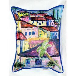 Fun City II Indoor/Outdoor Pillow