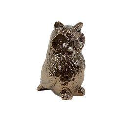 Ceramic Owl IV Figurine