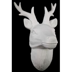 Porcelain Deer Head Wall De�cor