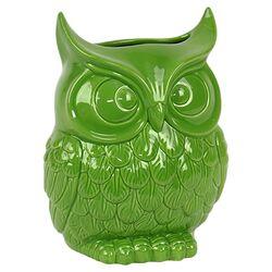 Ceramic Owl VIII Figurine