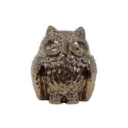 Ceramic Owl III Figurine