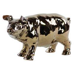 Ceramic Standing Pig Figurine