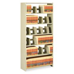 Snap-Together 6-Shelf Closed Starter Set Open Filing Unit