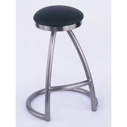 Alpha Backless Swivel Barstool