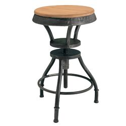 Forston Fir Top Adjustable Height Bar Stool