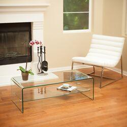 Celeia Coffee Table with Shelf