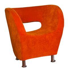 Hester Microfiber Modern Club Chair