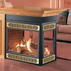 DESA INTERNATIONAL UNVENTED (VENT-FREE) PROPANE GAS LOG HEATER