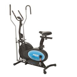 400LS 2 in 1 Air Elliptical and Exercise Bike with Heart Pulse Sensors