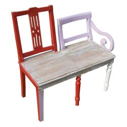 2 Chair Back Bench