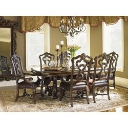 Legacy Classic Furniture Brownstone Village 7 Piece Dining