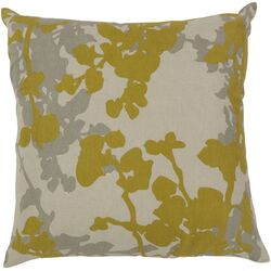 Jef Designs Floral Pillow