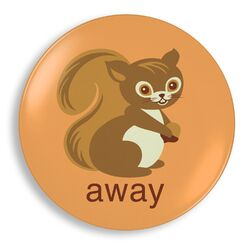 Squirrel Away Plate