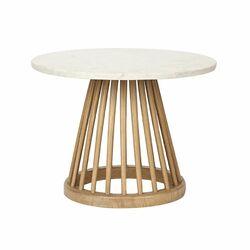 Fan End Table