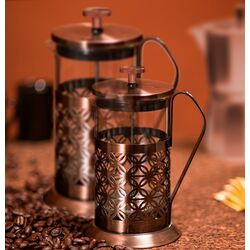 Flower French Press Coffee Maker
