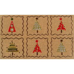 Christmas Trees Doormat