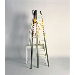 Zig Zag Six Light Floor Lamp