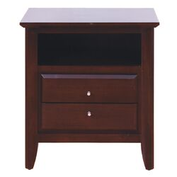City II 2 Drawer Nightstand