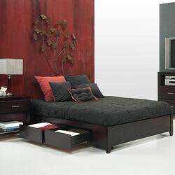 Nevis Storage Platform Bed