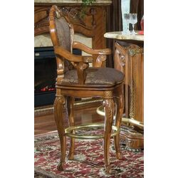 Cortina Barstool in Honey Walnut (Set of 2)