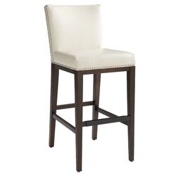 Vintage Bonded Leather Barstool