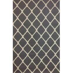 Tangier Grey/Ivory Diamond Rug