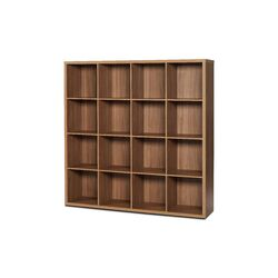 4 Row and 4 Column Open Cabinet