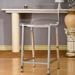 Pure D�cor Acrylic Bar Stool