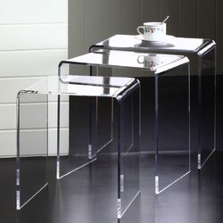 Pure D�cor 3 Piece Nesting Tables Set