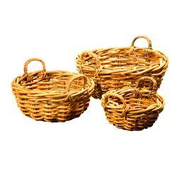 Bali Round Basket