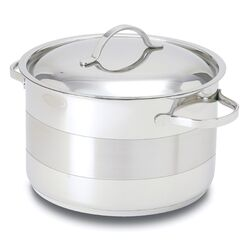 Gourmet Stainless Steel Round Dutch Oven