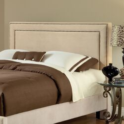 Amber Fabric Panel Bed