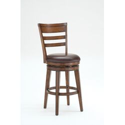 Villagio Swivel Bar Stool with Cushion