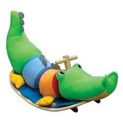 Rocking Crocodile Ride-On Rocker