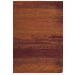 Luster Wash Russet Tones Area Rug